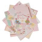 Набор бумаги для скрапбукинга «Сделано с любовью», 12 листов, 30,5 х 30,5 см, 180 г/м