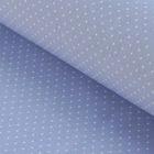 """Ткань для пэчворка """"Мелкий горошек"""", 48х50см, 120г/кв.м, цвет светло-лавандовый"""