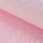 """Ткань для пэчворка """"Звёзды"""", 48х50см, 120г/кв.м, № 15"""