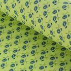 "Ткань для пэчворка ""Сказочные цветы"", 48х50см, 120г/кв.м, №6"
