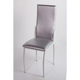 Стул на металлокаркасе Про СТ белый/серебро металлик