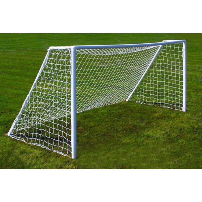 Сетка футбольная нить 3мм ( в комплекте 2 сетки) в пакете