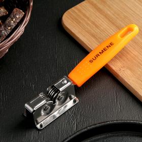 Точилка для ножей Доляна «Оранж», 19×3,5 см
