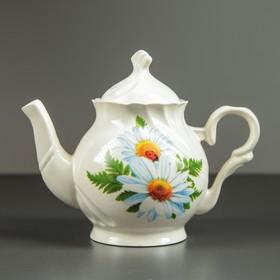 Чайник заварочный 'Арфей', 0,5 л, ромашка Ош