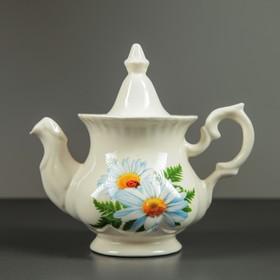Чайник заварочный 'Гарбуз', 0,6 л, ромашка Ош