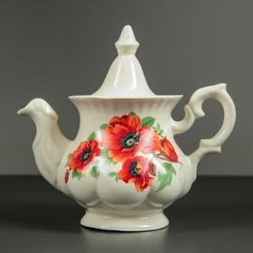 Чайник заварочный 'Гарбуз', 0,6 л, мак Ош