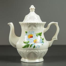 Чайник заварочный 'Монарх', 0,5 л, ромашка, микс Ош