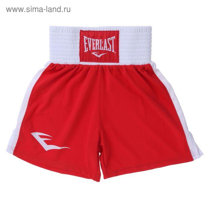 Трусы боксерские Elite 140 красн/бел.