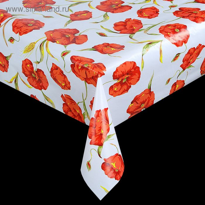 The oilcloth a dining room on a nonwoven basis, width: 137cm, thickness 0.07 mm, roll 20 m