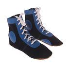 Борцовки, размер 44, цвет синий
