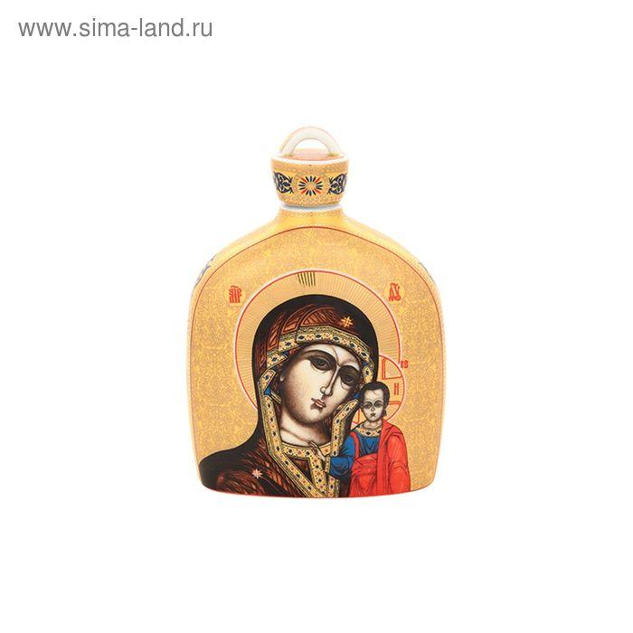 """Сосуд для святой воды """"Казанская Божья Матерь"""", 12х5х17 см, 0,5 л"""