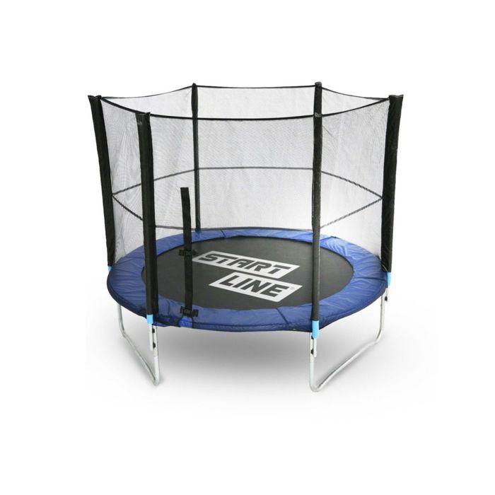 Батут Start Line Fitness 10 футов (305 см) с внешней сеткой (183 см)