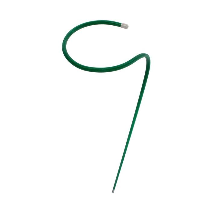 Кустодержатель, d = 20 см, h = 120 см, ножка d = 1 см, зелёный