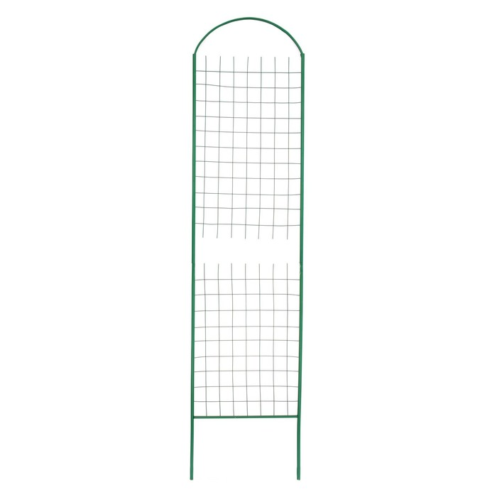 Шпалера, 205 × 50 × 1.2 см, металл, зелёная, «Сетка разборная»
