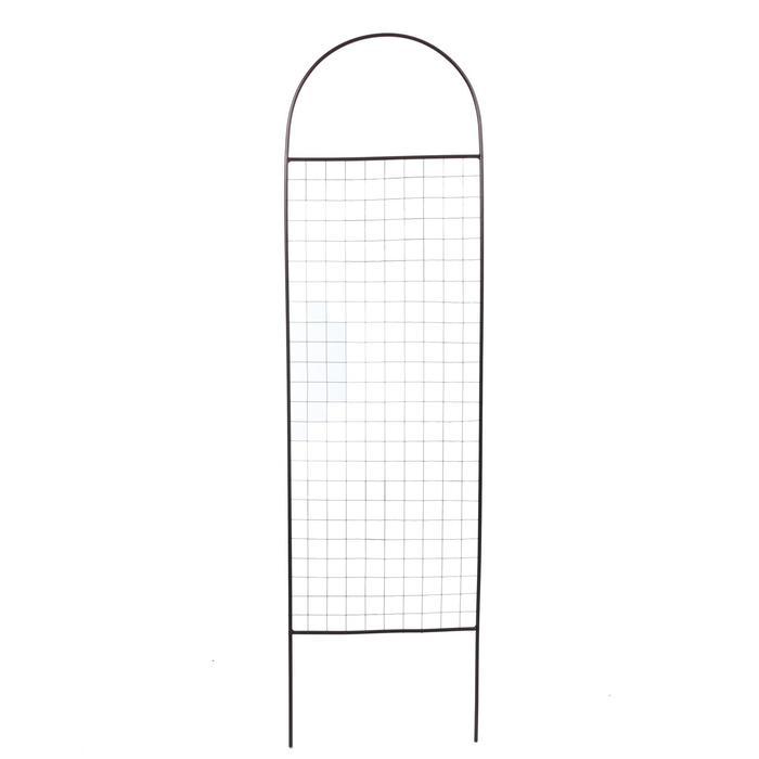 Шпалера, 191 × 50 × 1 см, металл, цвет бронзовый антик, «Сетка»