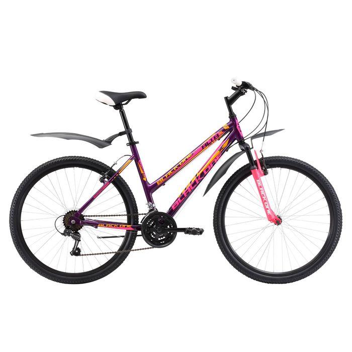 """Велосипед 26"""" Black One Alta Alloy, 2017, цвет фиолетово-розовый, размер 16''"""