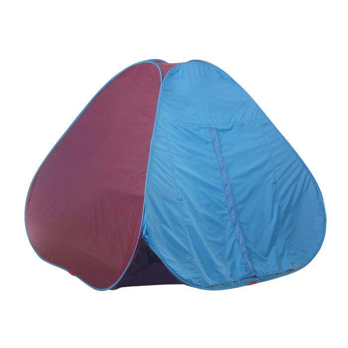 Палатка самораскрывающаяся, размер 200 х 200 х 135 см, цвет красно-синий