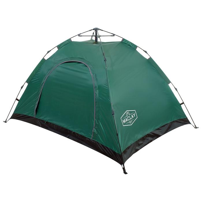 Палатка-автомат 200 х 150 х 110 см, цвет зелёный - фото 36085