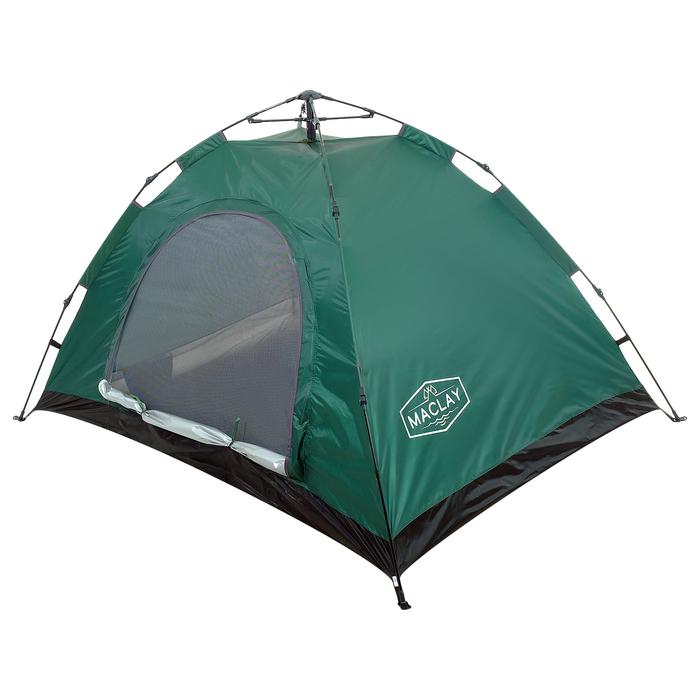 Палатка-автомат 200 х 150 х 110 см, цвет зелёный - фото 36086