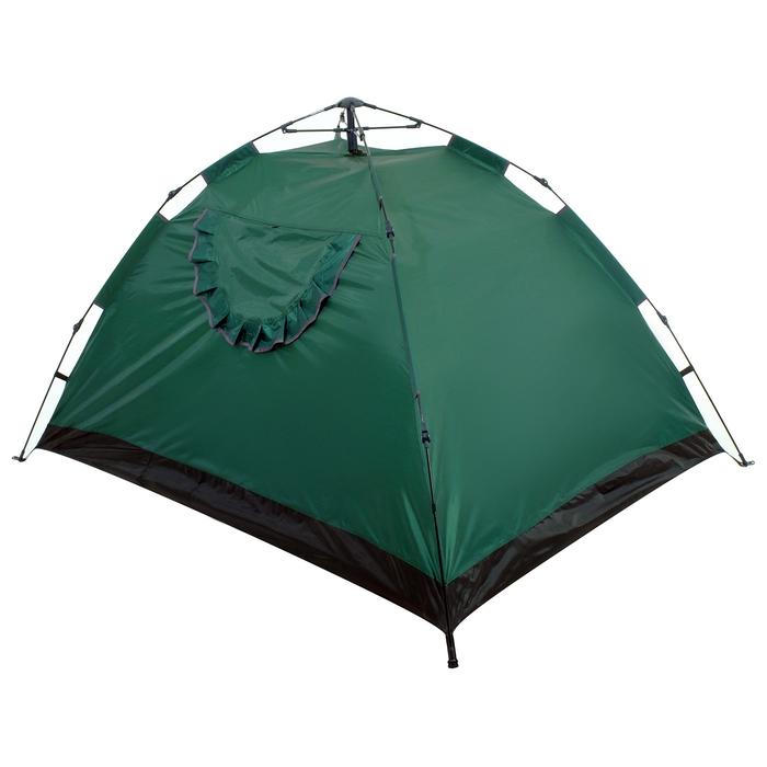 Палатка-автомат 200 х 150 х 110 см, цвет зелёный - фото 36088