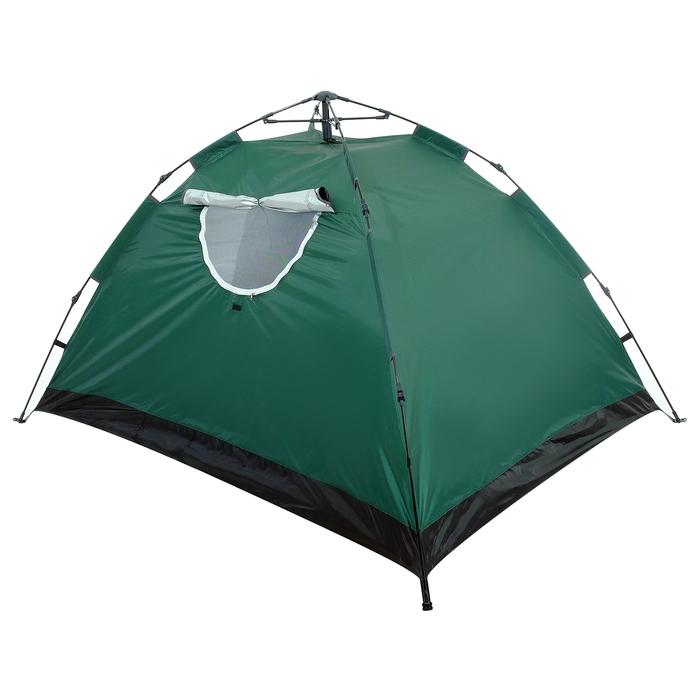 Палатка-автомат 200 х 150 х 110 см, цвет зелёный - фото 36089