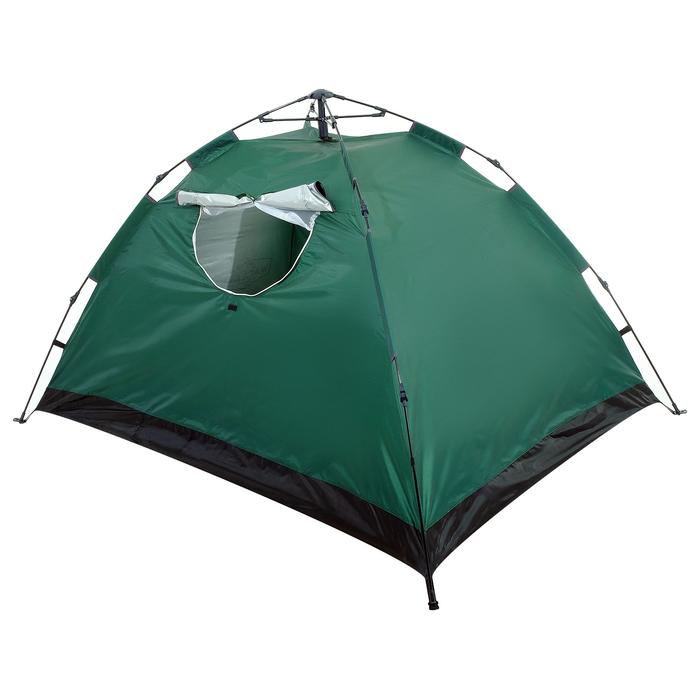 Палатка-автомат 200 х 150 х 110 см, цвет зелёный - фото 36090