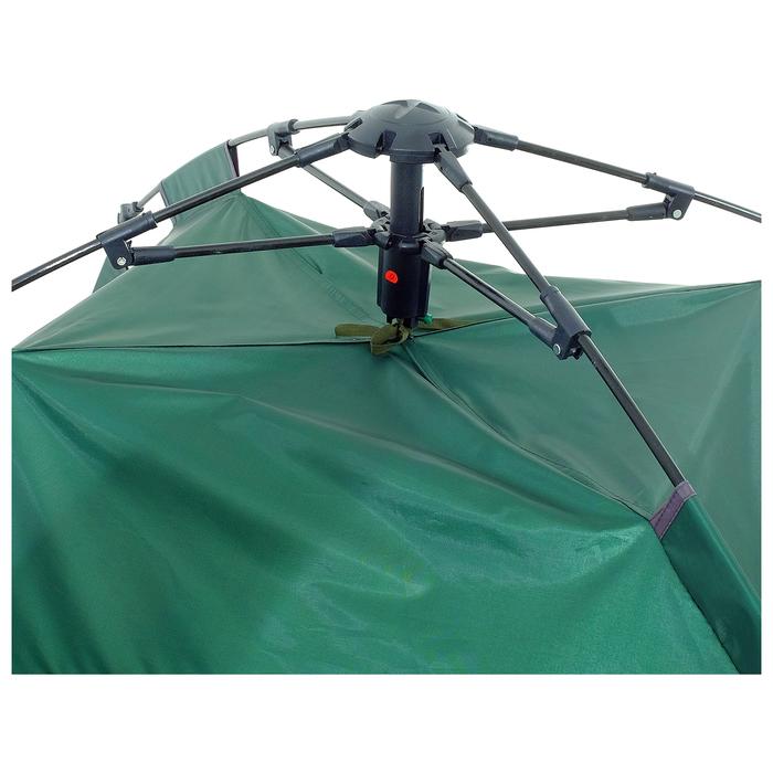 Палатка-автомат 200 х 150 х 110 см, цвет зелёный - фото 36091