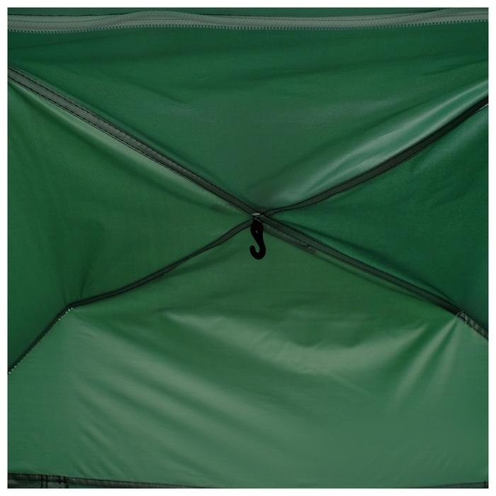 Палатка-автомат 200 х 150 х 110 см, цвет зелёный - фото 36092