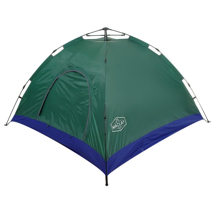 Палатка-автомат, размер 220 х 220 х 150 см, цвет зелёный