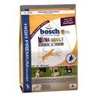 Сухой корм Bosch Mini Adult для собак мелких пород Ягненок/Рис, 15кг