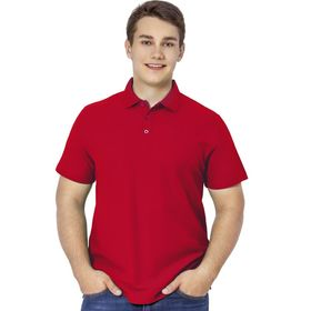 Рубашка мужская, размер 50, цвет красный