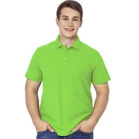 Рубашка мужская, размер 50, цвет ярко-зелёный