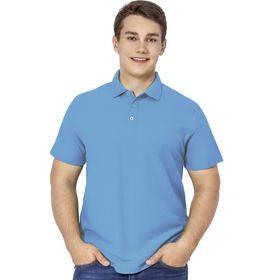 Рубашка мужская, размер 50, цвет голубой