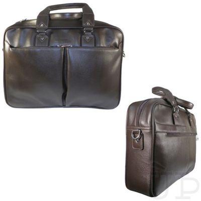 Сумка мужская на молнии, ва506-4174, 1 отдел, 2 наружных кармана, цвет коричневый