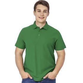 Рубашка мужская, размер 48, цвет зелёный