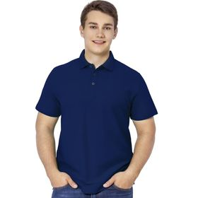 Рубашка мужская, размер 50, цвет тёмно-синий