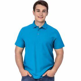 Рубашка мужская, размер 50, цвет лазурный