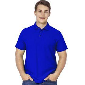 Рубашка мужская, размер 50, цвет синий