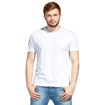 Футболка мужская StanEvent, размер 50, цвет белый, 125 г/м