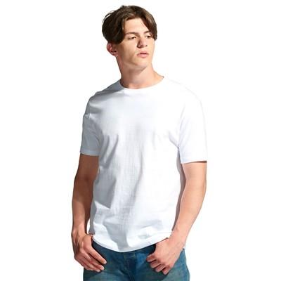 Футболка мужская StanGalant, размер 48, цвет белый 150 г/м 02
