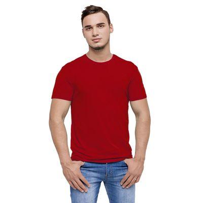 Футболка мужская StanEvent, размер 56, цвет красный, 135 г/м