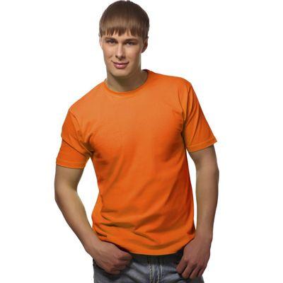 Футболка мужская StanGalant, размер 50, цвет оранжевый 150 г/м 02
