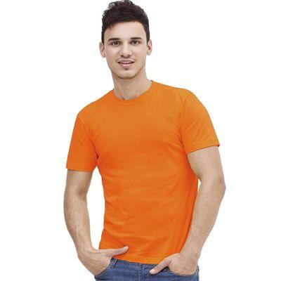 Футболка мужская StanAction, размер 52, цвет оранжевый 160 г/м