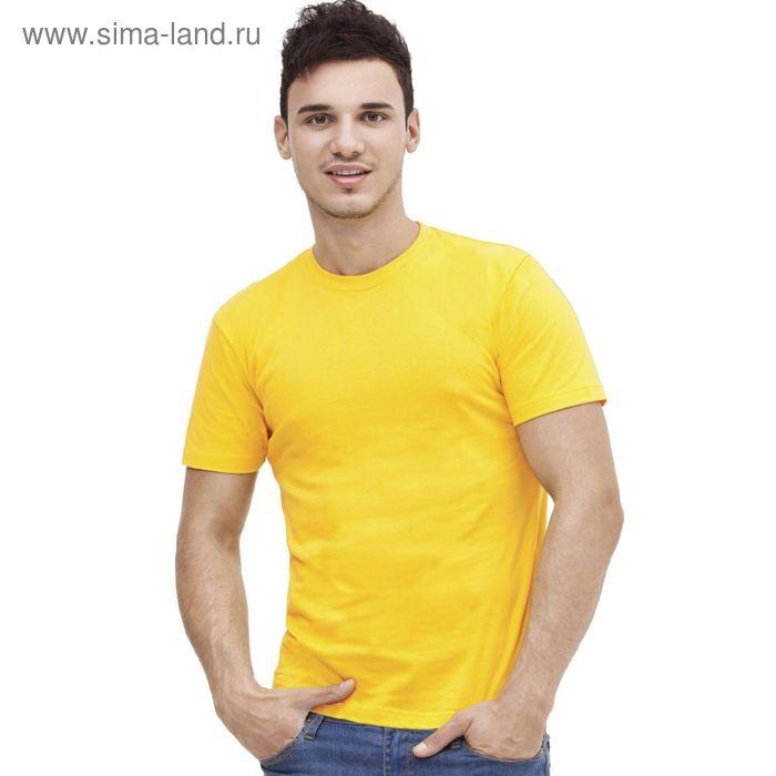 Футболка мужская StanAction, размер 44, цвет жёлтый 160 г/м 51