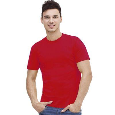 Футболка мужская StanAction, размер 54, цвет красный 160 г/м