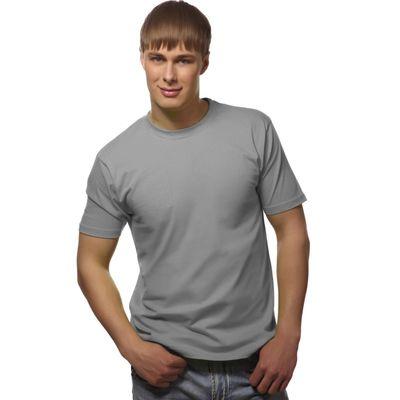 Футболка мужская StanGalant, размер 54, цвет светло-серый 150 г/м 02