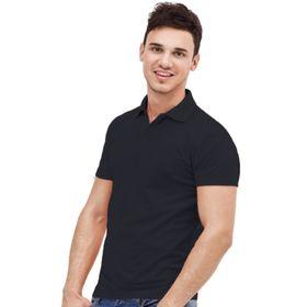 Рубашка унисекс, размер 44, цвет чёрный