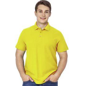 Рубашка мужская, размер 50, цвет жёлтый