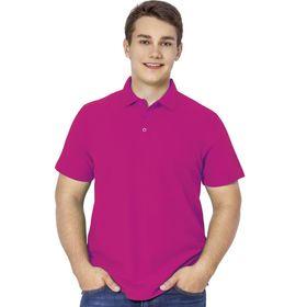 Рубашка мужская, размер 46, цвет маджента
