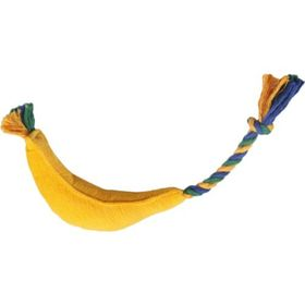"Игрушка для собак ""Банан макси"" 42 х 5 см, текстиль"